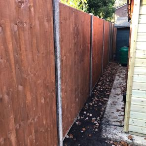 Closeboard Panelled Fencing
