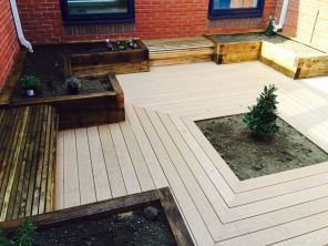 Raised Beds, Seating, Composite Decking