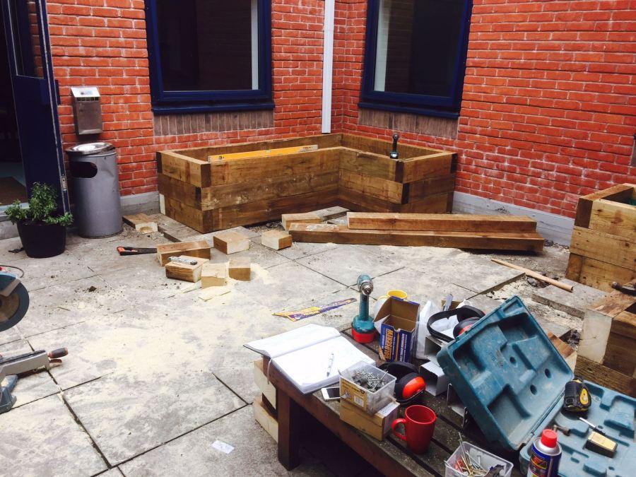Courtyard Garden - Before