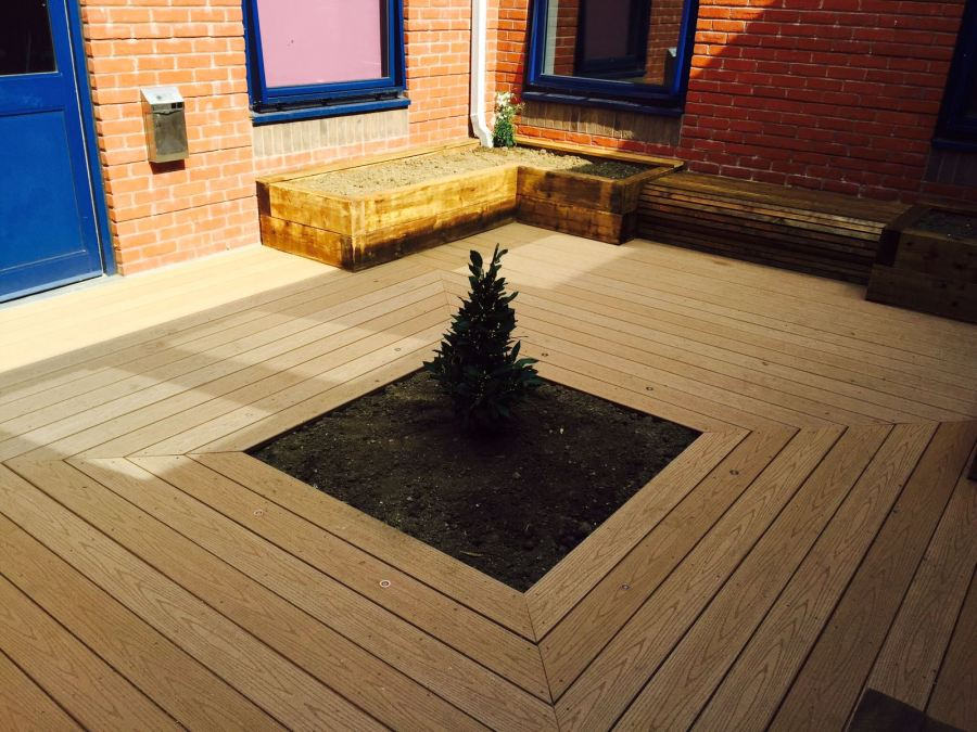 Courtyard Garden - After