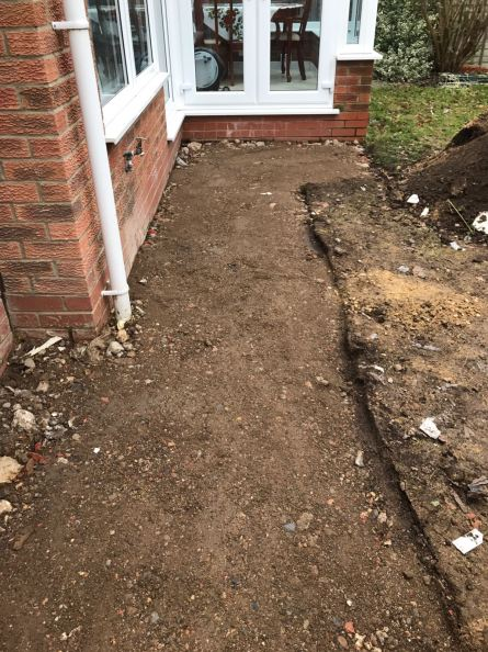 Block Paving - Before