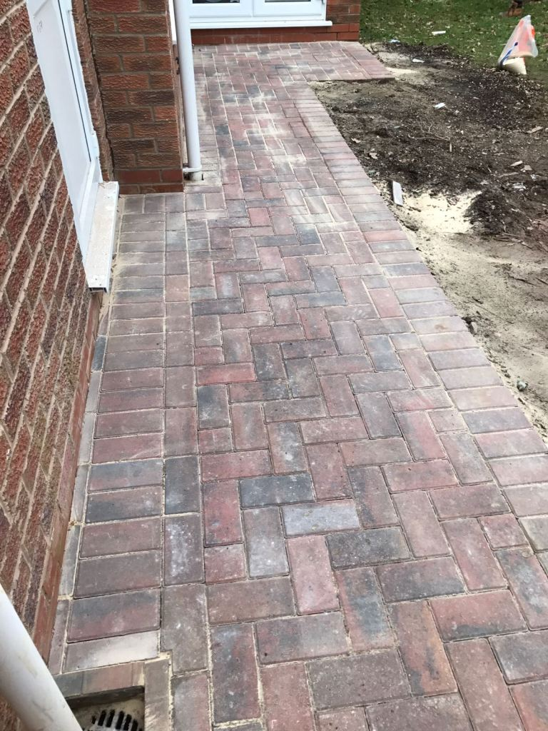 Block Paving - After